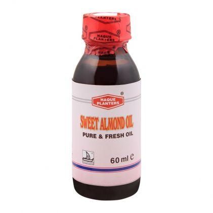 Haque Planters Sweet Almond Oil, 60ml