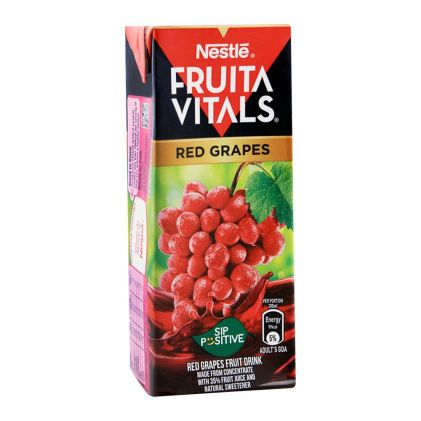 Nestle Fruita Vitals Red Grapes Fruit Drink 200ml
