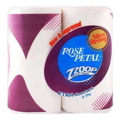 Rose Petal Kitchen Towel Twin