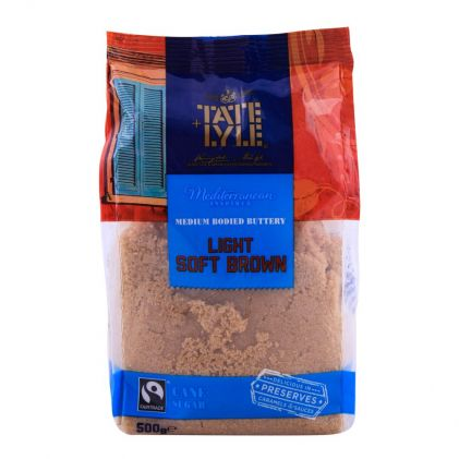 Tate & Lyle Light Soft Brown Sugar 500g