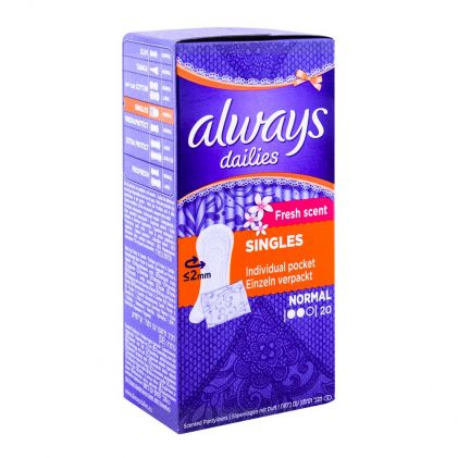 Always Scented Pantiliners Normal 20-Pack