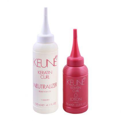 Keune Keratin Curl Lotion + Neutralizer, 0