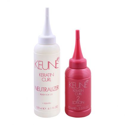 Keune Keratin Curl Lotion + Neutralizer, 2