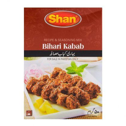 Buy Shan Bihari Kabab Recipe Masala 50gm Online At Best
