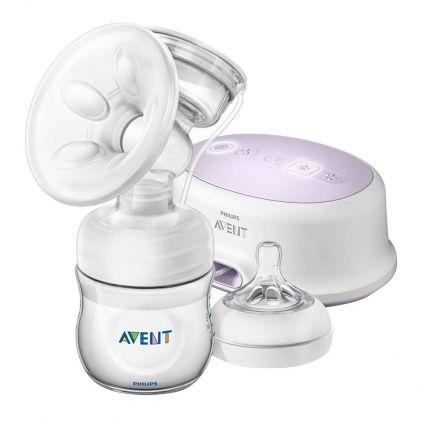 Avent Ultra Comfort Single Electric Breast Pump, 0m+, SCF332/31