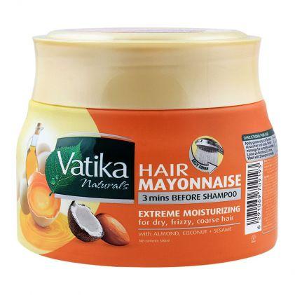 Dabur Vatika Hair Mayonnaise Extreme Moisturizing Treatment, 500ml