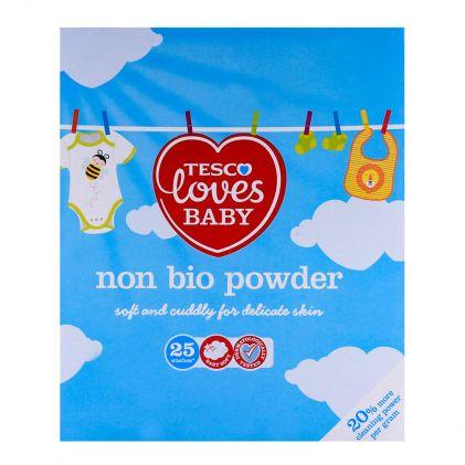 Tesco Loves Baby Non Bio 25 Washes Powder 1.625 KG