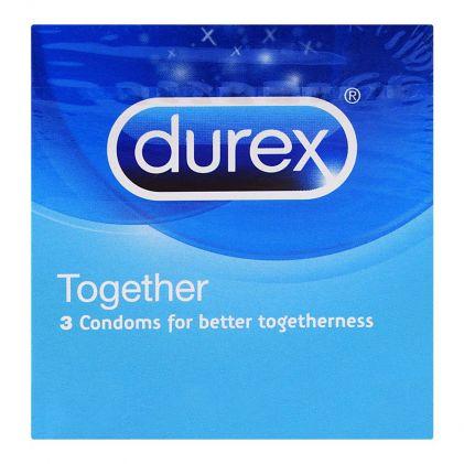 Durex Together Better Togetherness Condoms 3-Pack