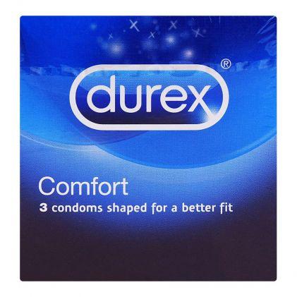 Durex Comfort Shaped Condoms 3-Pack
