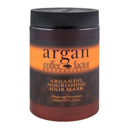 Coffee Factor Professional Argan Oil Nourishing Hair Mask, 1000ml