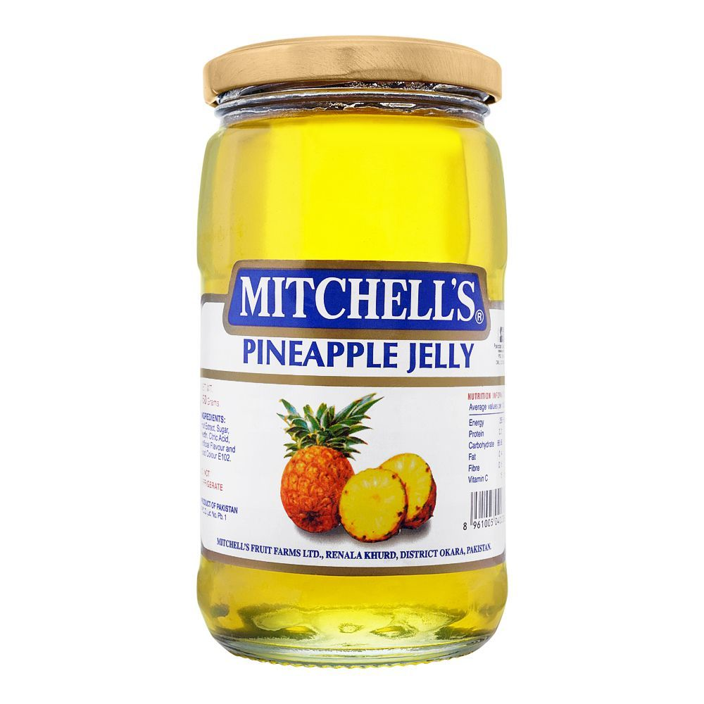Mitchell's Pineapple Jelly, 450g