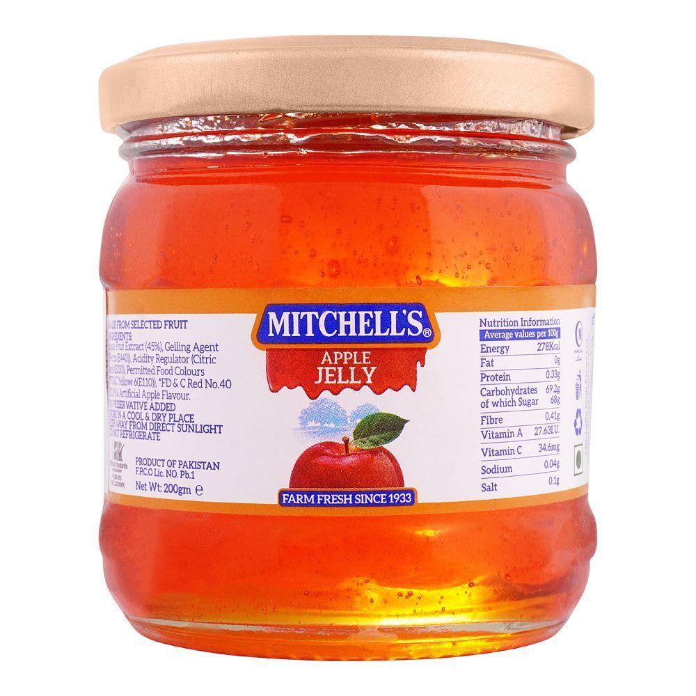 Mitchell's Apple Jelly, 200g
