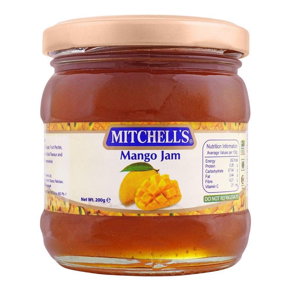 Mitchell's Mango Jam, 200g