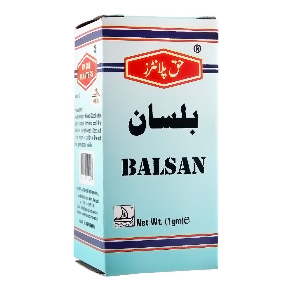Haque Planters Balsan Oil, 1ml