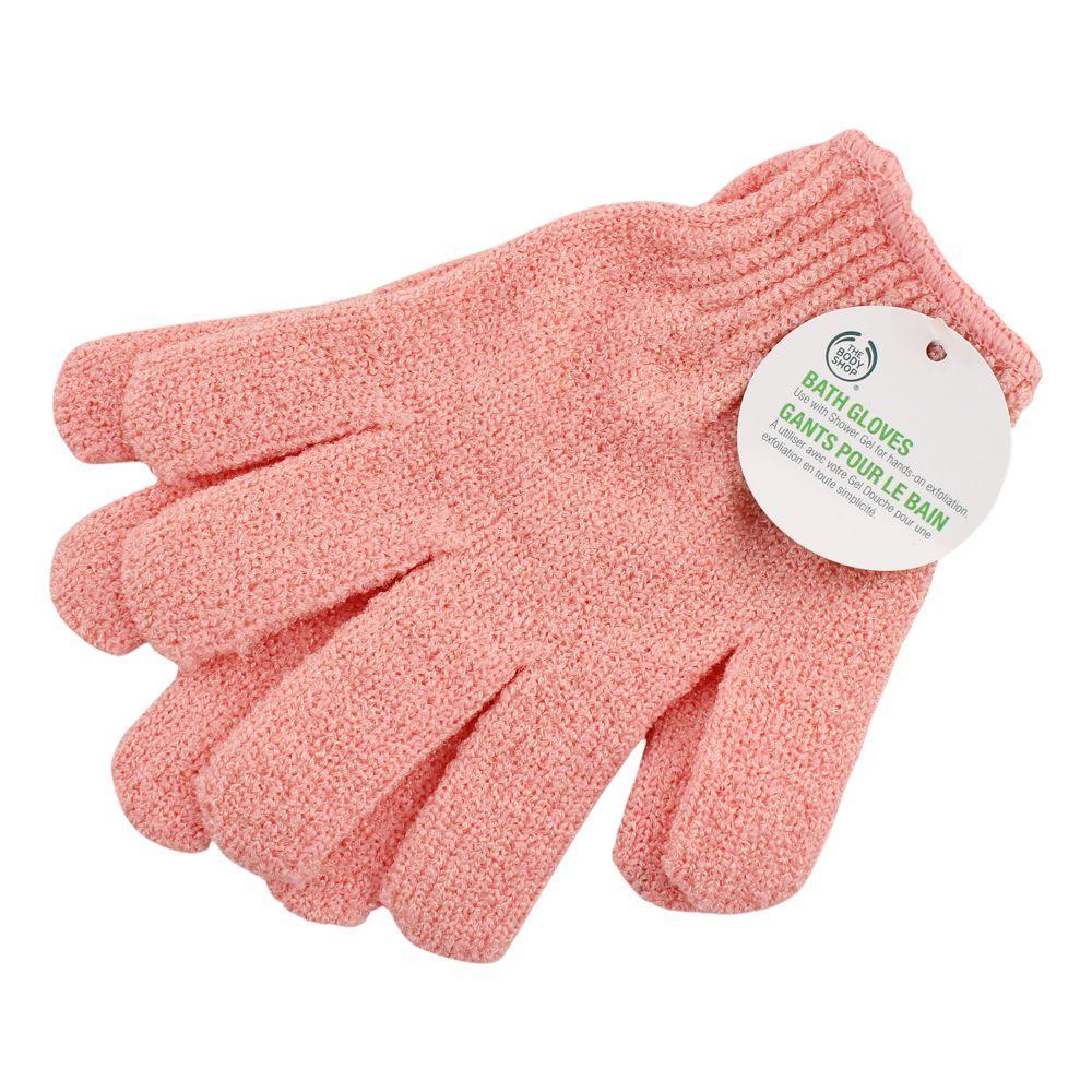 The Body Shop Bath Gloves, Pink