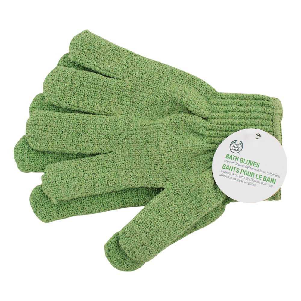 The Body Shop Bath Gloves, Green