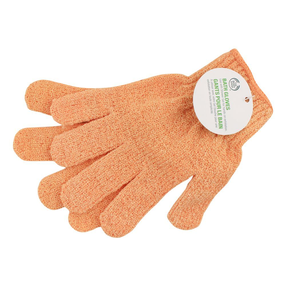 The Body Shop Bath Gloves, Orange