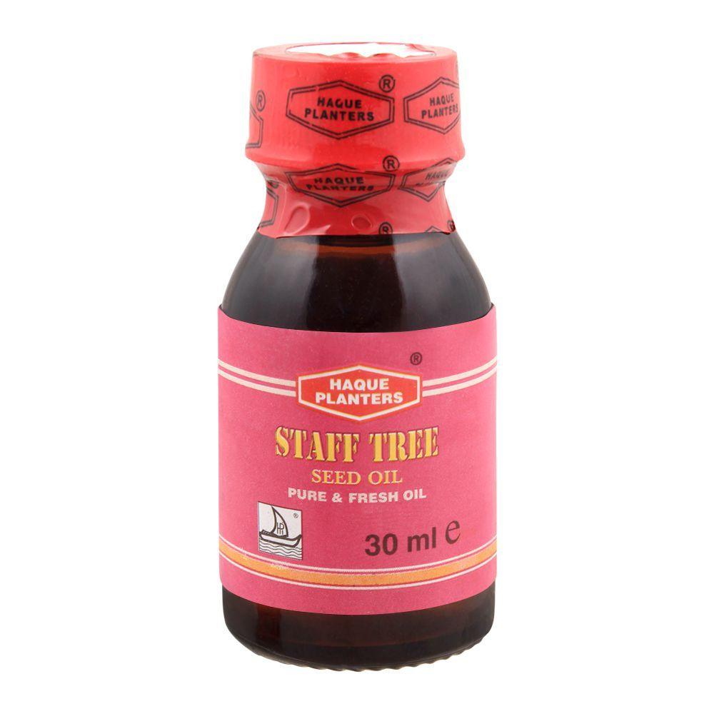 Haque Planters Staff Tree Seed Oil, 30ml