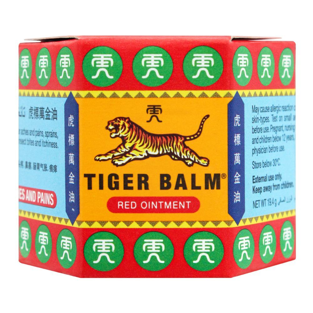 Tiger Balm Red Ointment, 19.4g