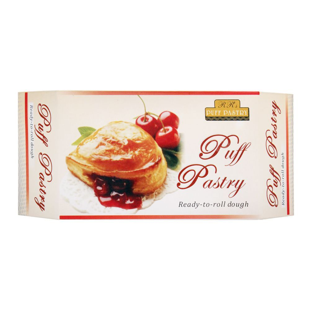 RR's Puff Pastry Ready To Roll Dough, 250g