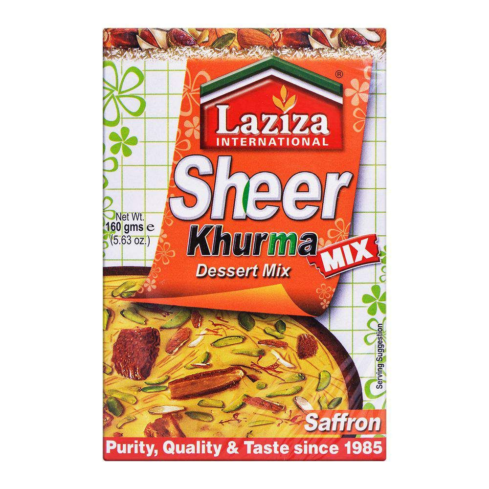 Laziza Sheer Khurma Saffron Dessert Mix 160g