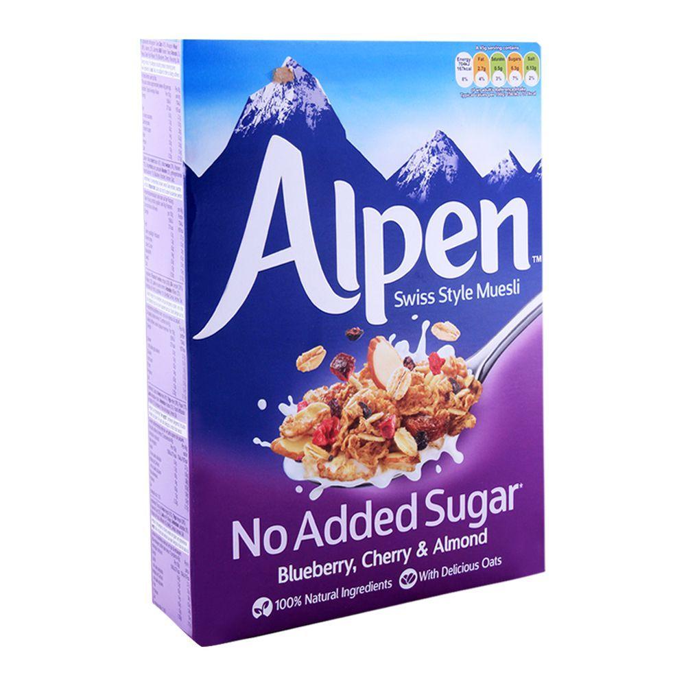 Alpen Blueberry Cherry & Almond Muesli 560g