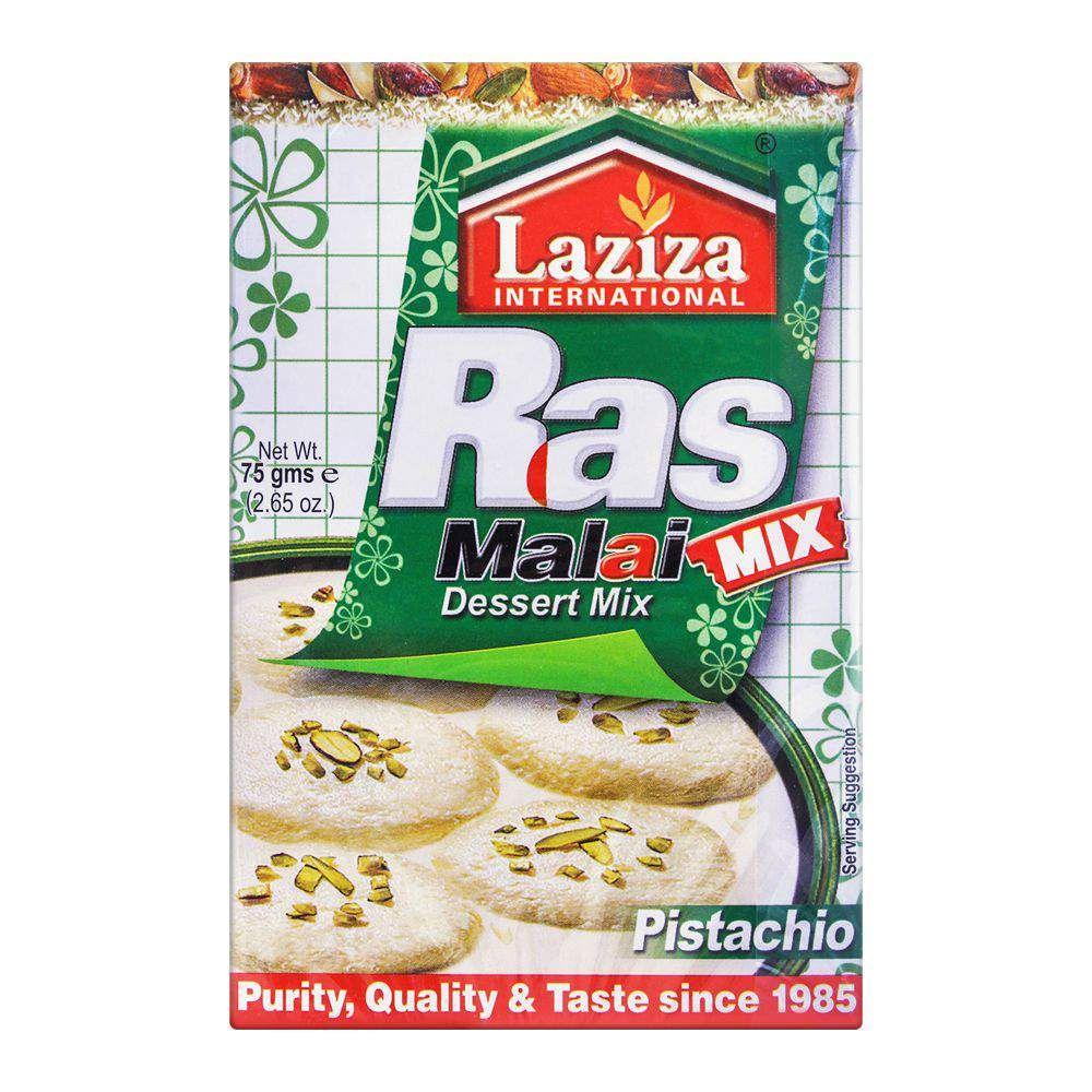 Laziza Rasmalai Dessert Mix, Pistachio, 75g