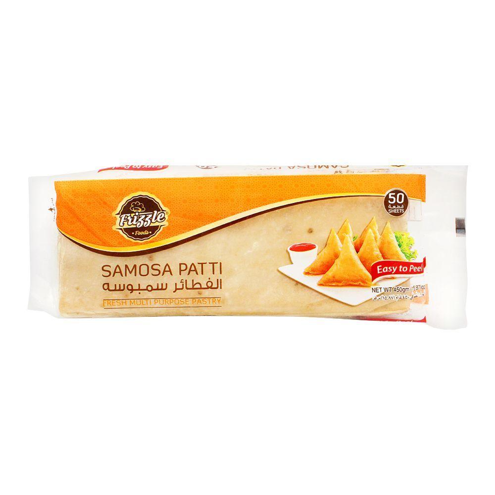 Frizzle Samosa Patti, 50-Pack, 450g