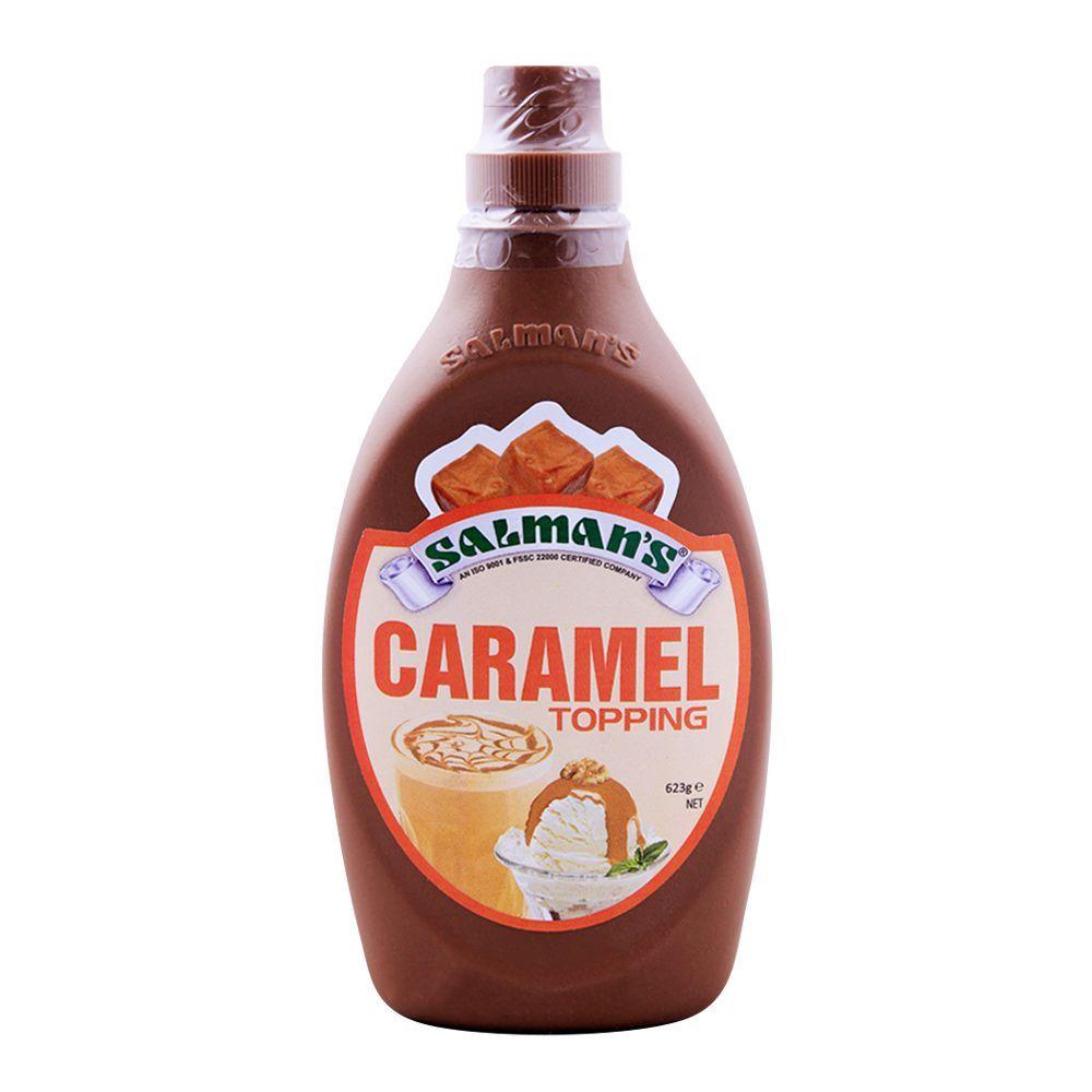 Salmans Caramel Topping 623g