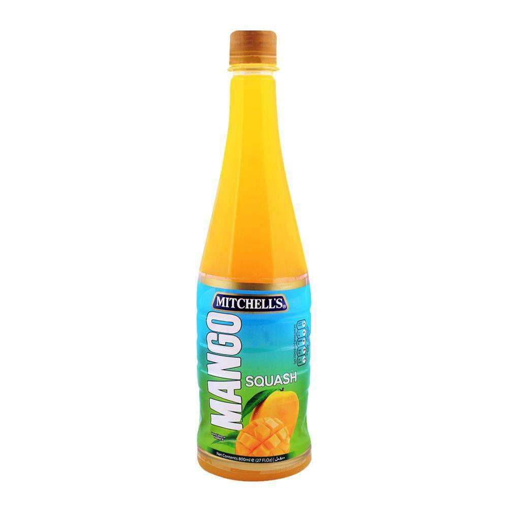 Mitchell's Mango Squash 800ml