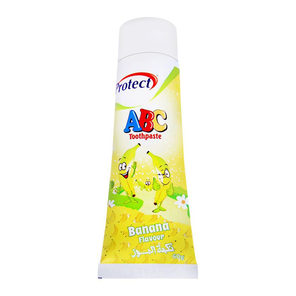 Protect ABC Toothpaste, Banana Flavour, 60g