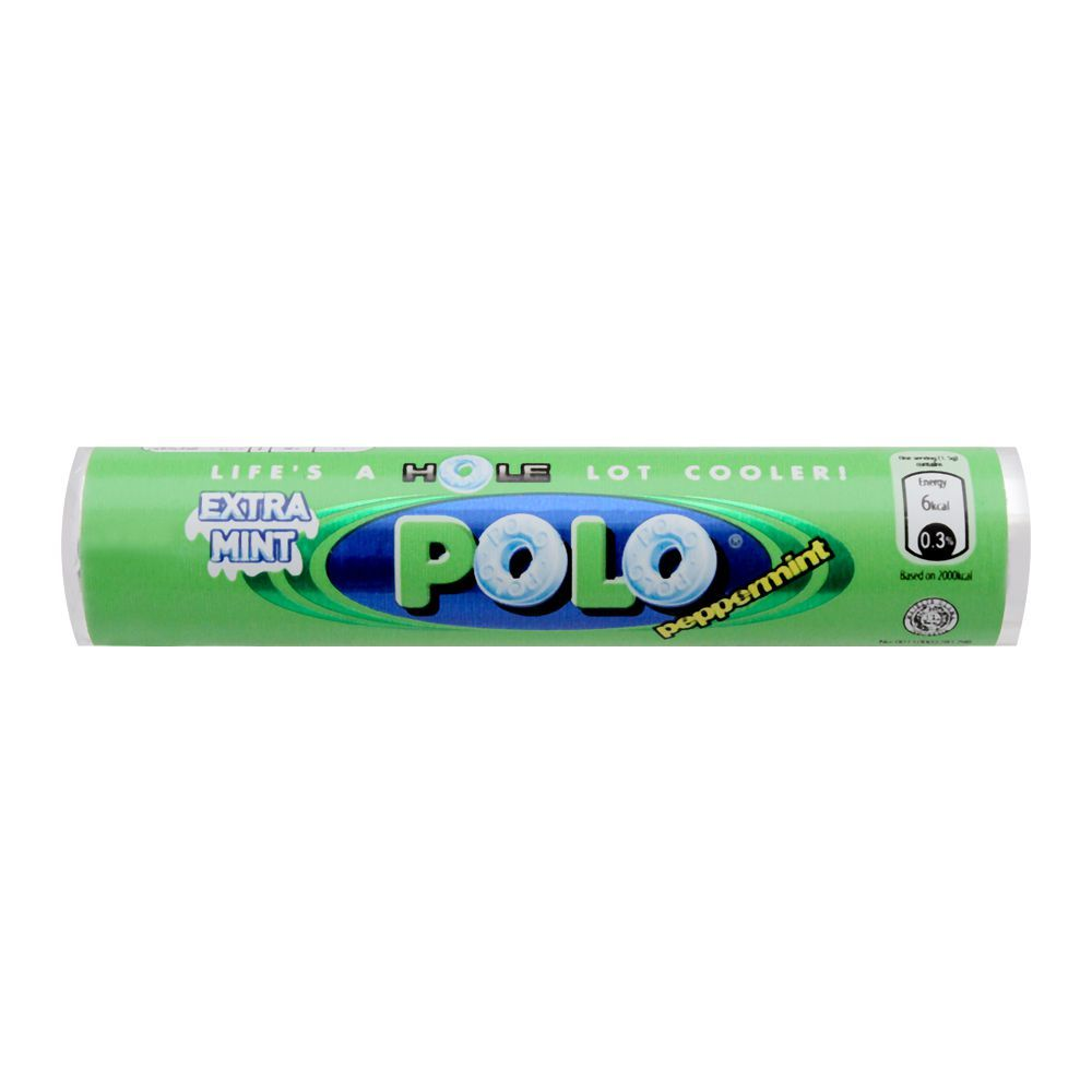 Polo Peppermint, Extra Mint Roll, Imported, 27g