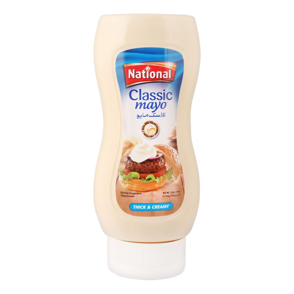 National Classic Mayonnaise Squeezy, 350g