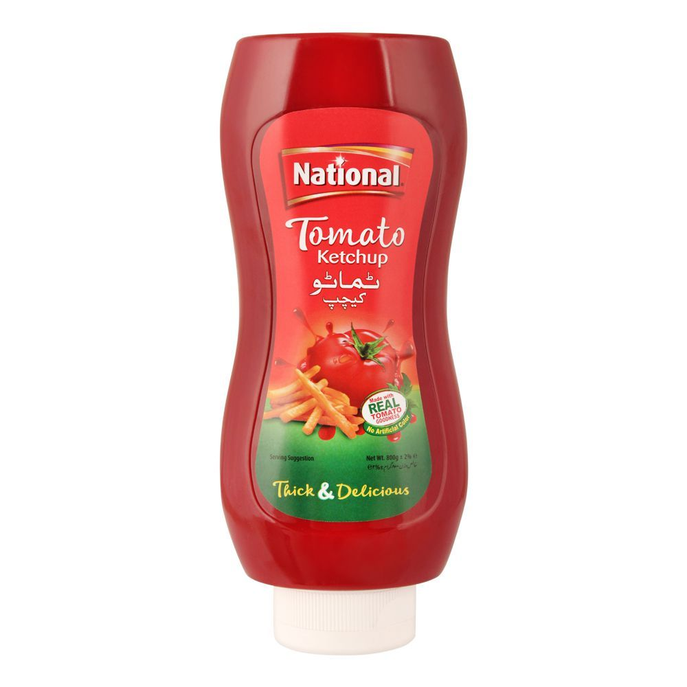 National Tomato Ketchup Squeezy, 800g