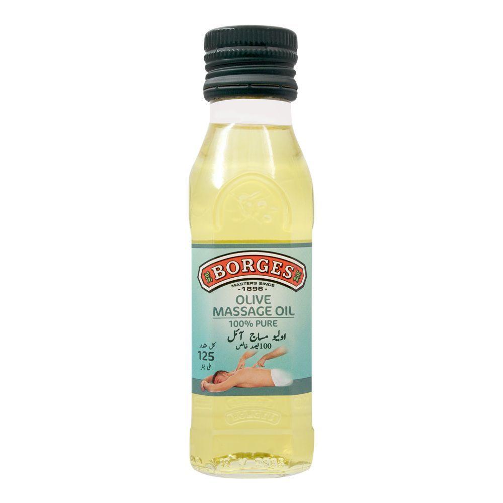 Borges Olive Massage Oil, 125ml