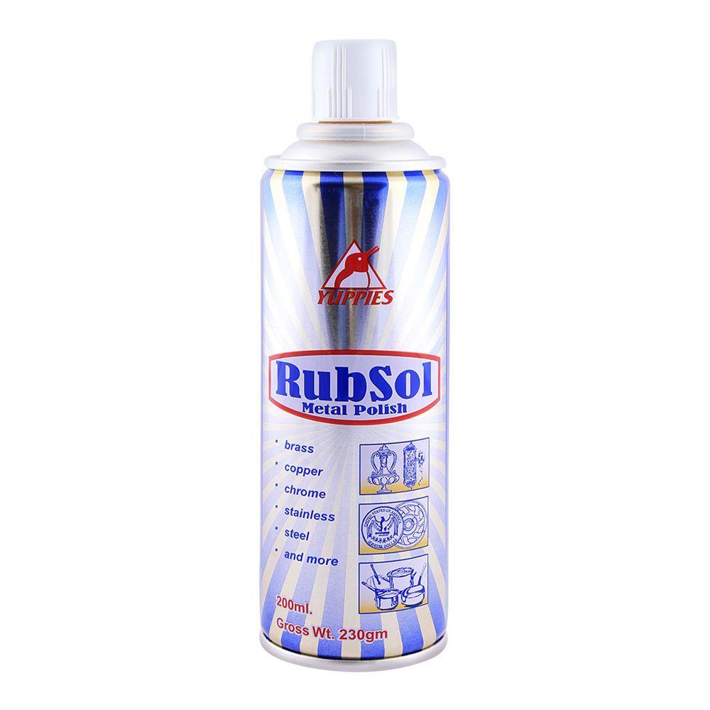 Yuppies Rubsol Metal Polish 230gm