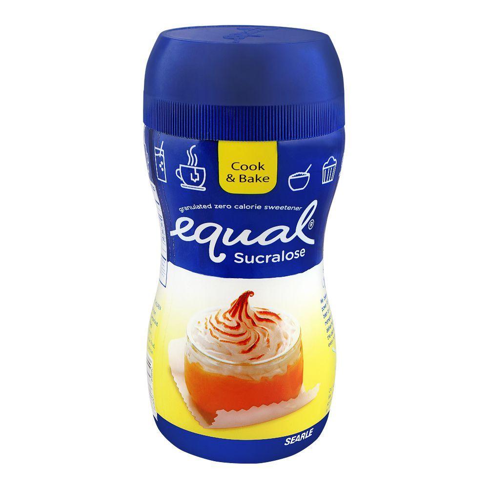 Equal Sucralose Granulated Zero Calorie Sweetener, Jar, 60g