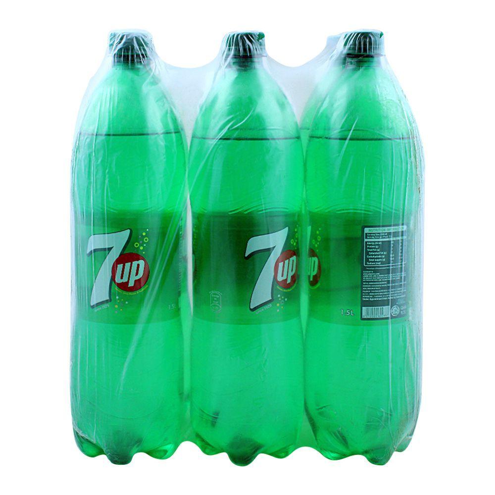 7UP 1.5 Liters, 6 Pieces