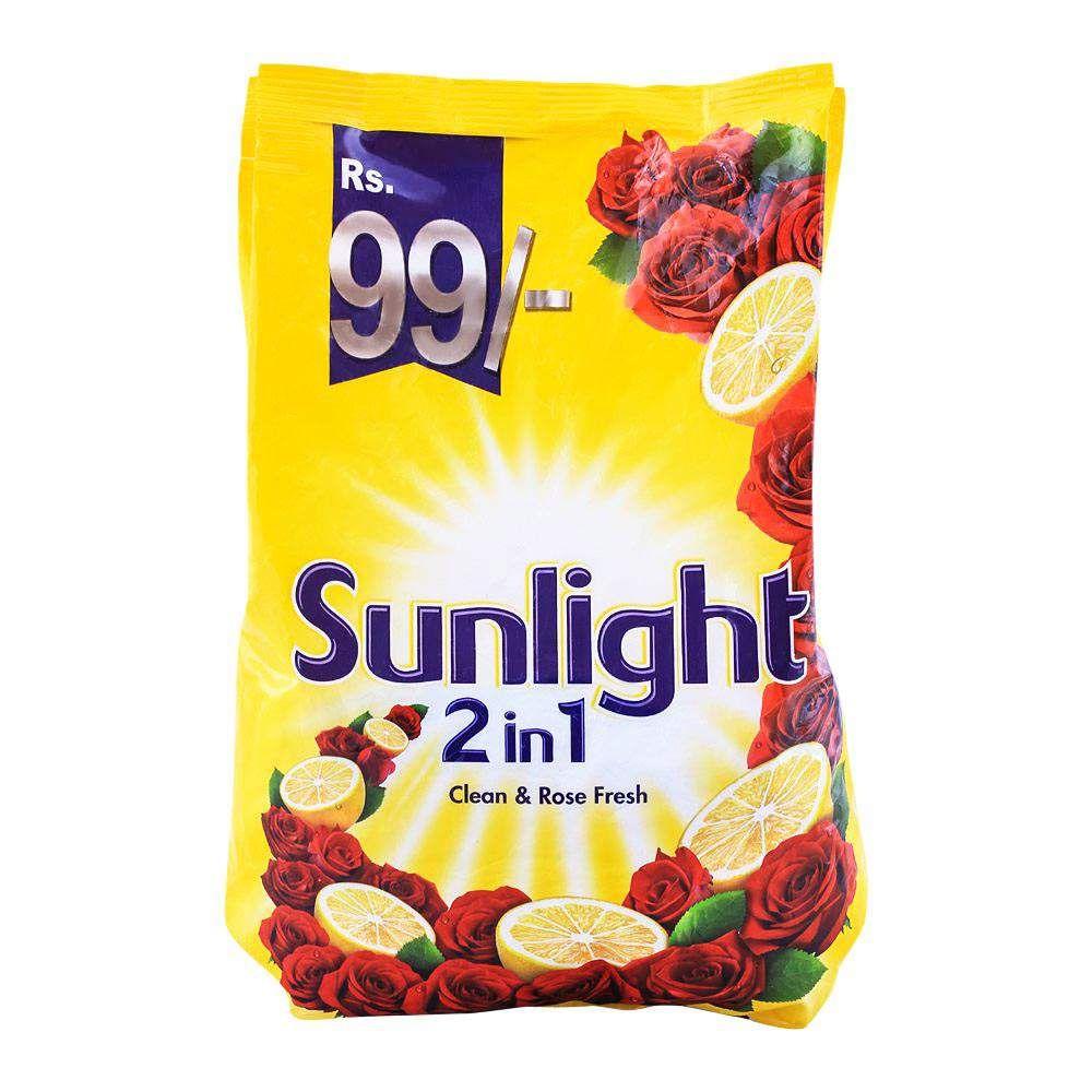 Sun Light 2-in-1 Clean & Rose Fresh Washing Powder 800g