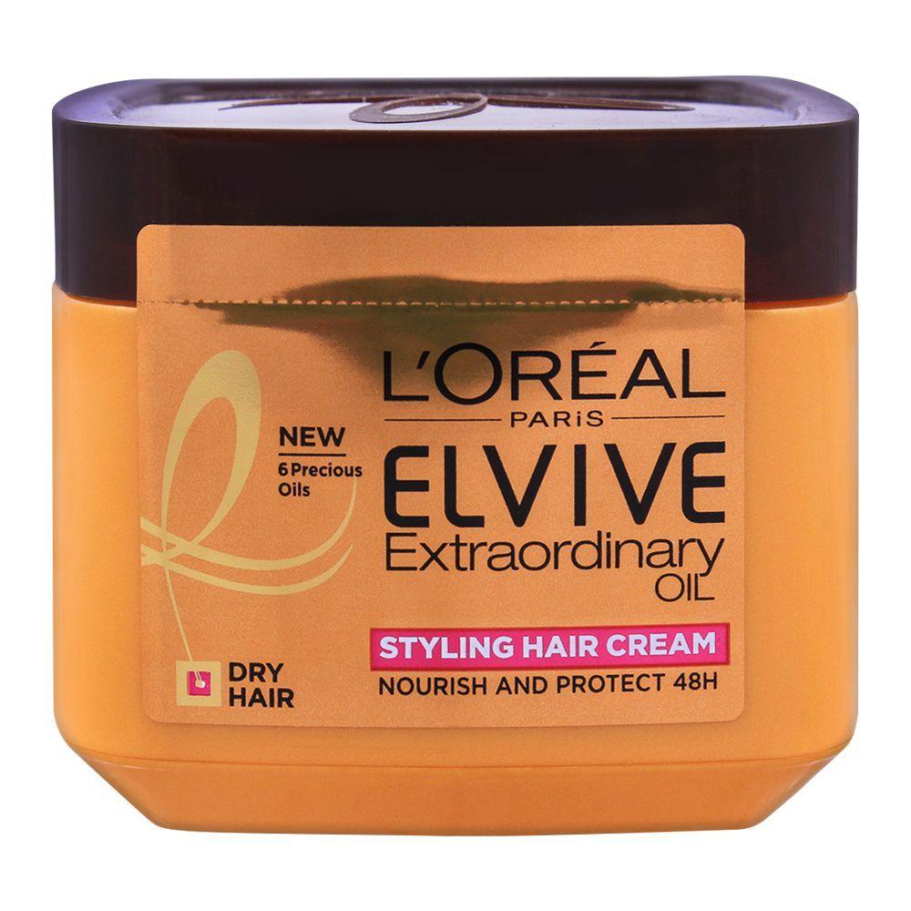L'Oreal Paris Elvive Extraordinary Oil, Styling Hair Cream, For Dry Hair, 200ml