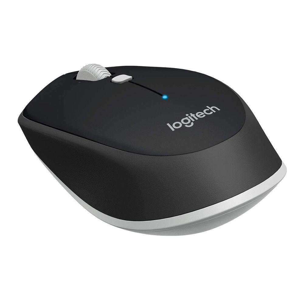 Logitech M337 Bluetooth Wireless Mouse, Black/White