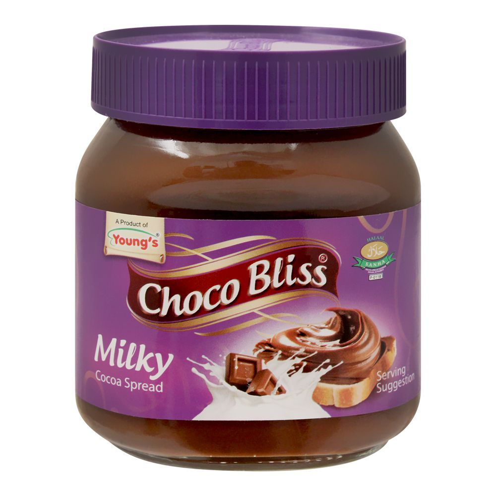 Young's Choco Bliss Milky Cocoa Spread, 350g