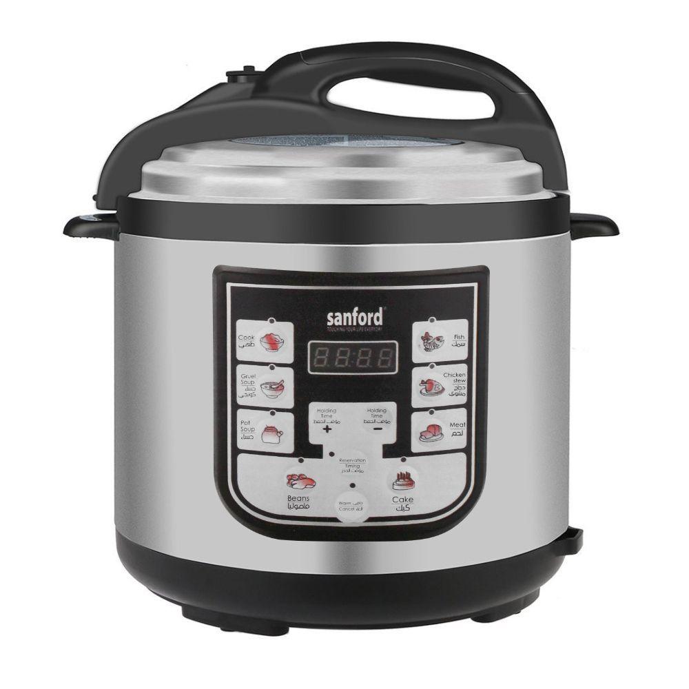 Sanford Electric Digital Pressure Cooker, 6L, 1000W, SF-3200EPC