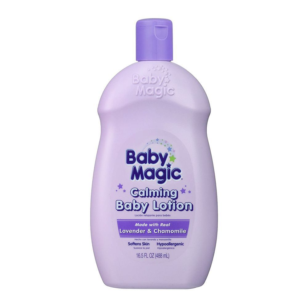 Baby Magic Calming Baby Lotion, Lavender & Camomile, 488ml