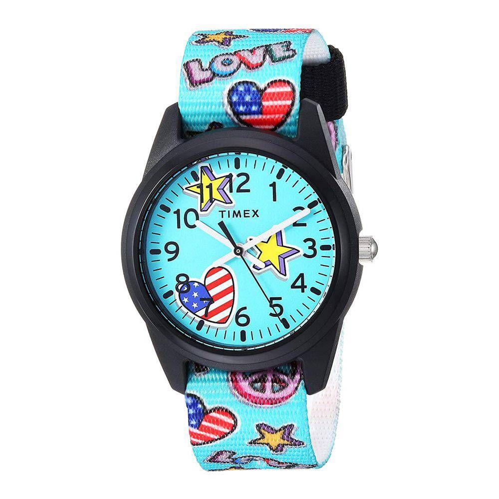 Timex Girls Time Machines Analog Resin Watch - TW7C23500