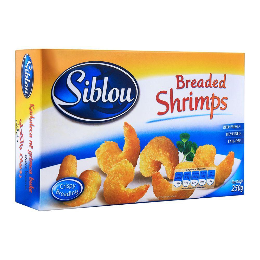 Siblou Breaded Shrimps 250g