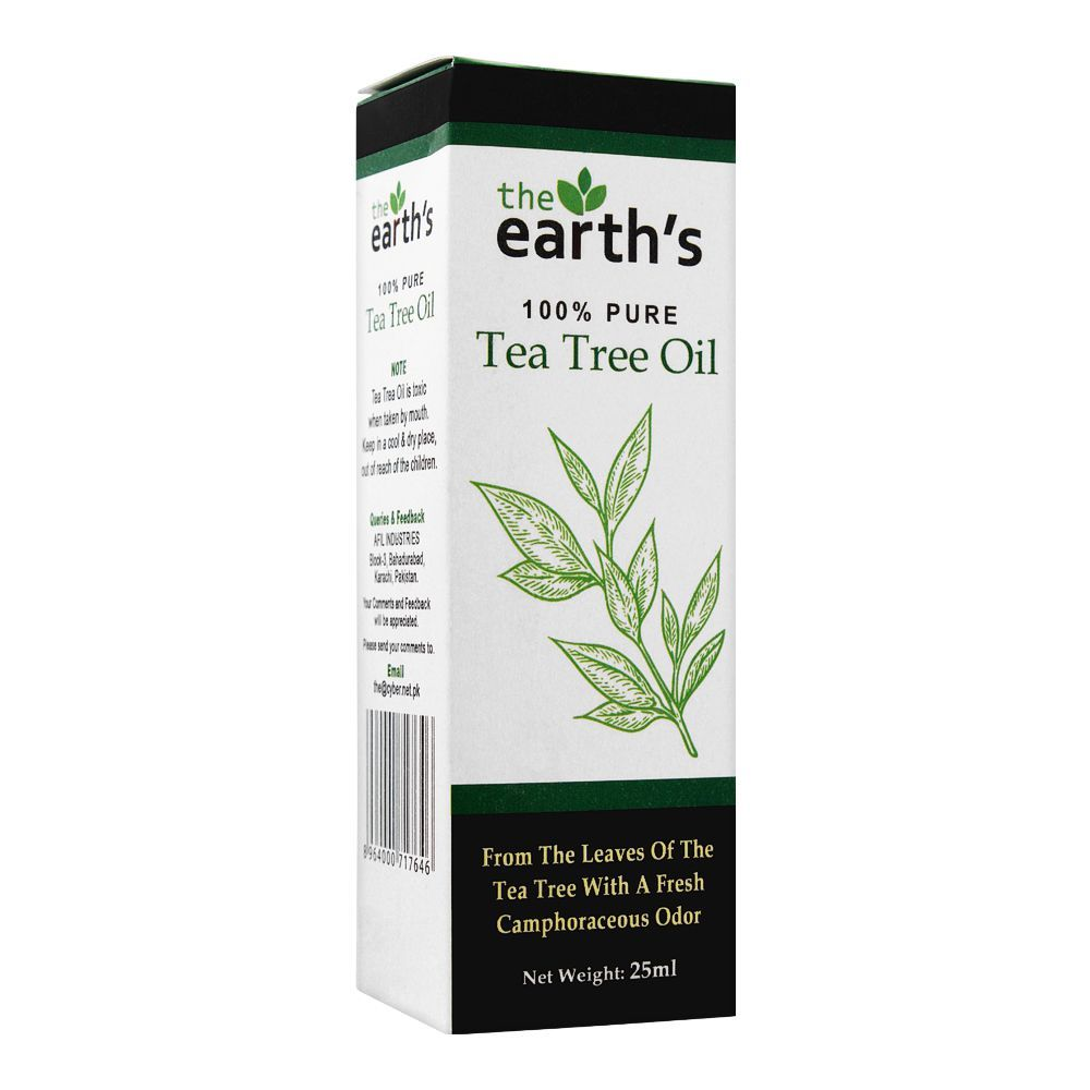 The Earth's 100% Pure Tea Tree Oil, 25ml