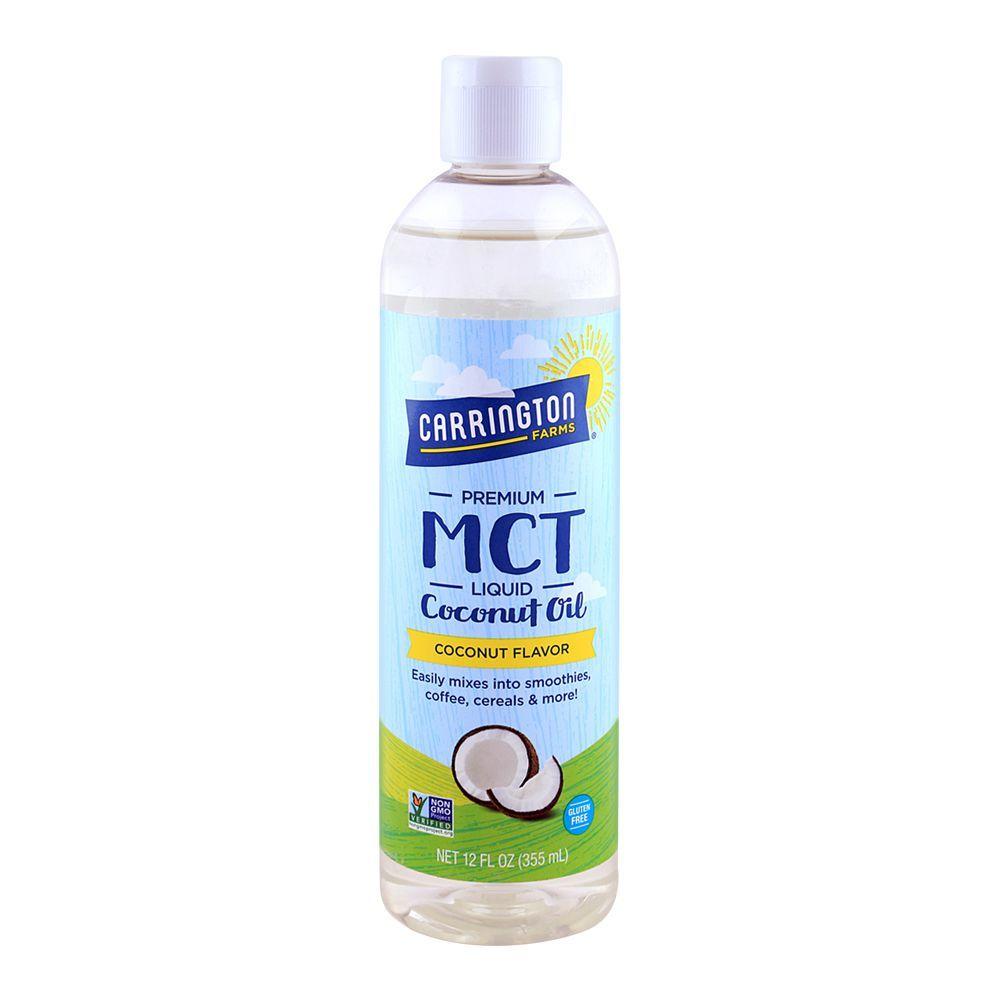 Carrington Farms Premium MCT Coconut Oil 12oz