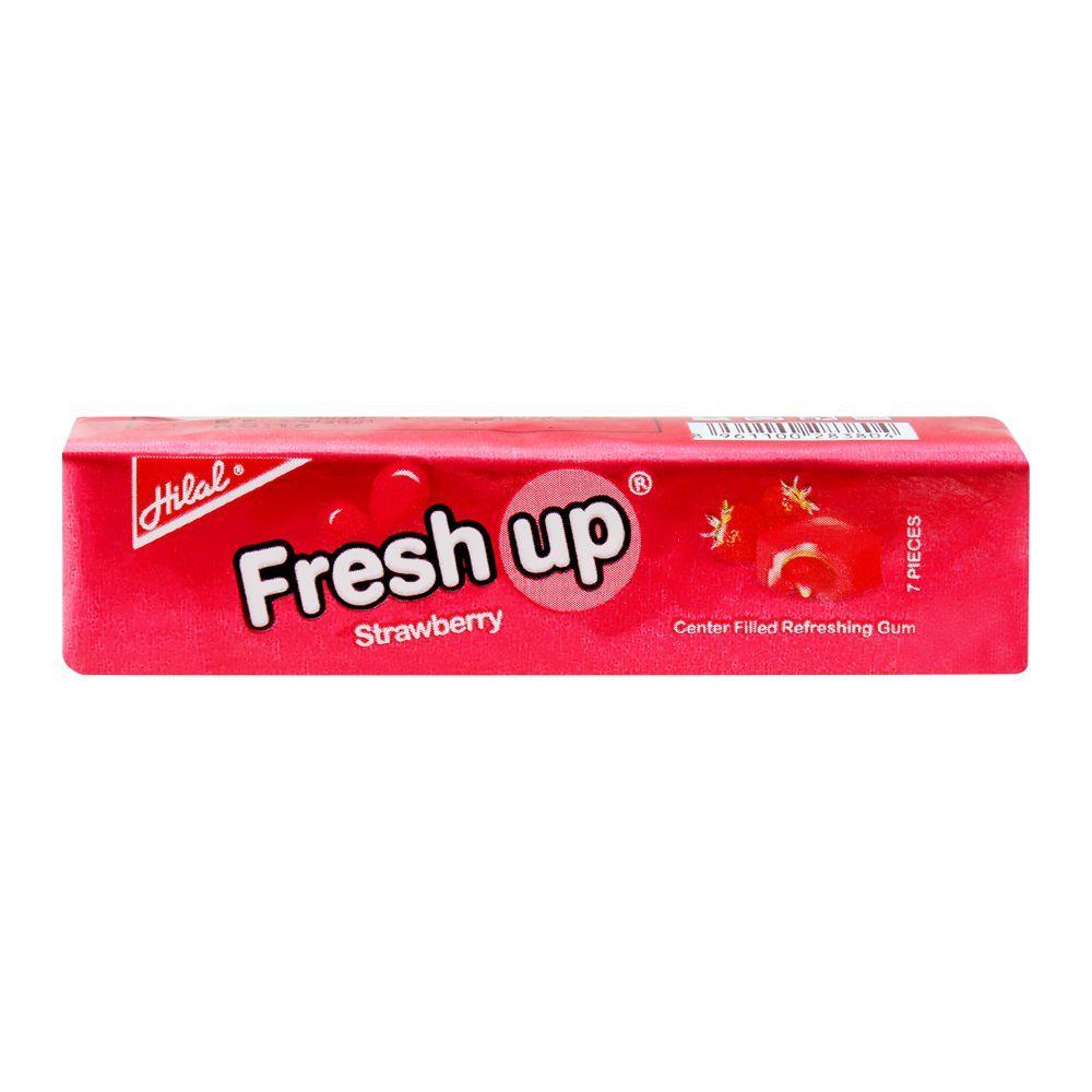 Hilal Freshup Strawberry Bubble Gum, 26.g