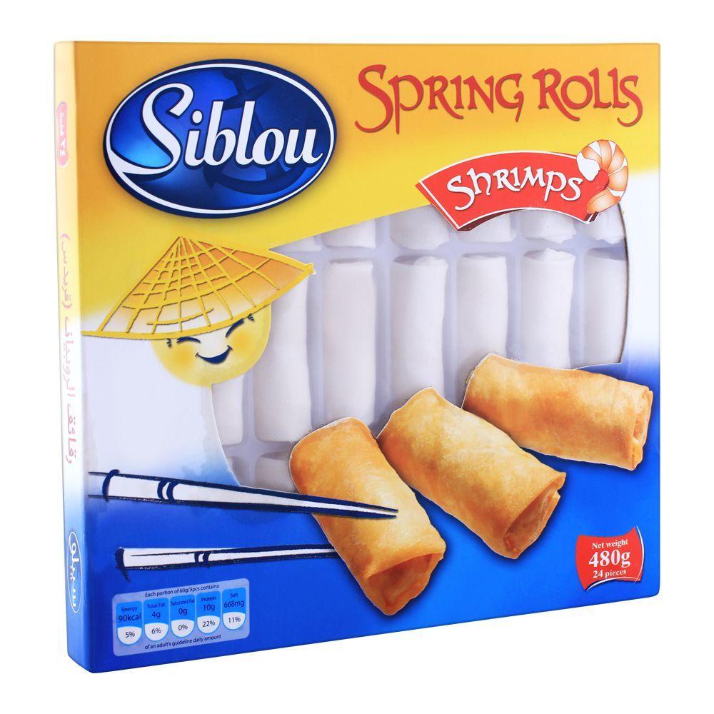 Siblou Spring Rolls Shrimps 480g